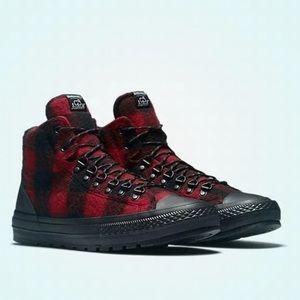 Converse X Woolrich  Buffalo Plaid Boots